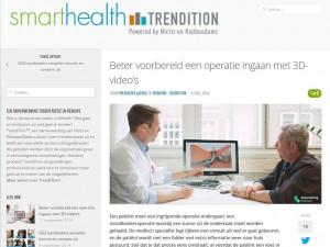 """SmartHealth: """"Beter voorbereid een operatie ingaan met medische animatie video's"""""""